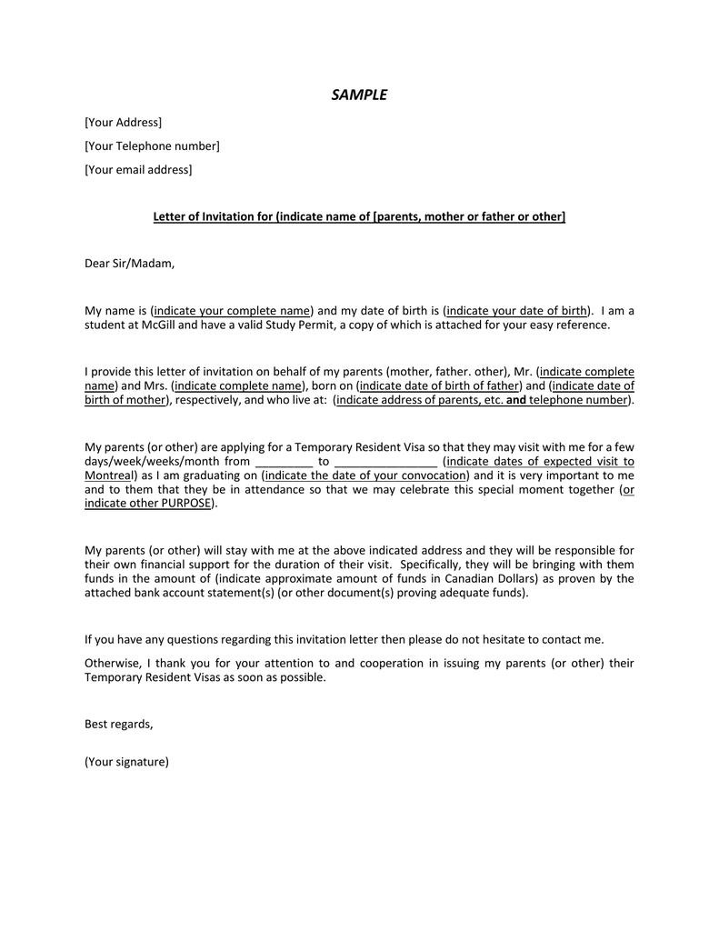 Letter Of Financial Support For Visa Sample from s2.studylib.net