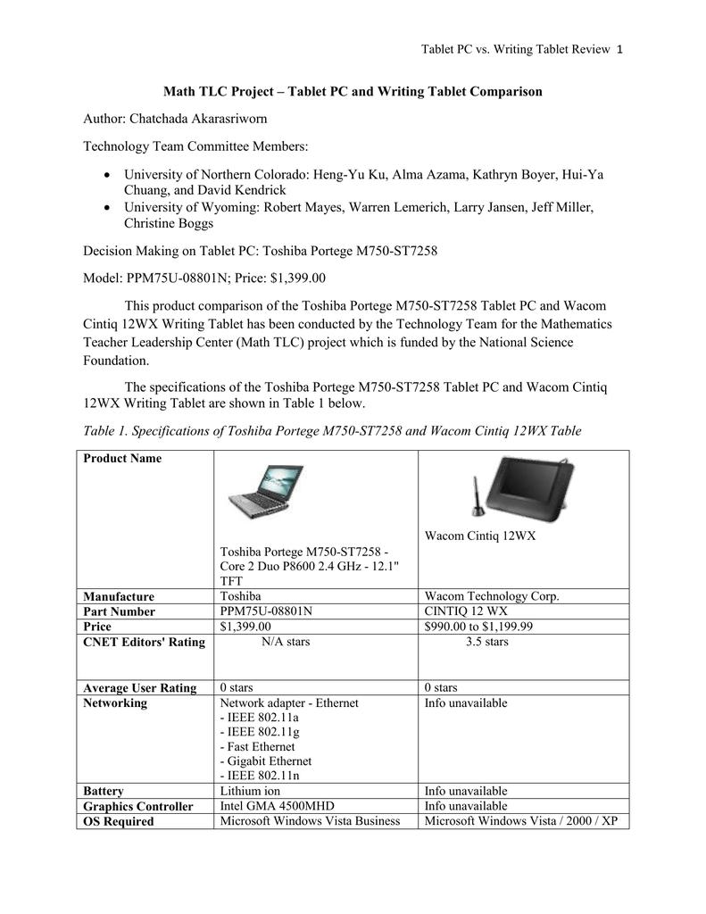 cnet tablet comparison