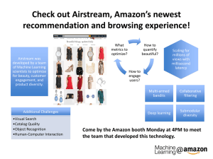 Check out Airstream, Amazon's newest recommendation and browsing experience! How to What