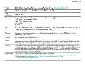 Project Title IEEE 802.16 Broadband Wireless Access Working Group < >