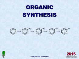 ORGANIC SYNTHESIS 2015 NOCKHARDY PUBL