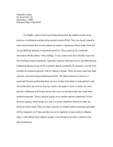 Gabrielle Cuebas Dr. Koh ENG 101 December 3, 2008 Research Paper Final Draft