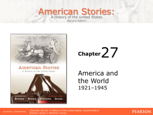 27 American Stories: America and the World