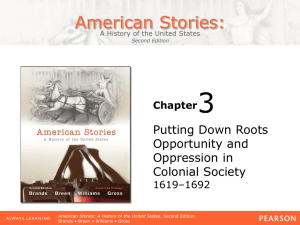 3 American Stories: Putting Down Roots Opportunity and