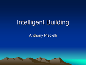 Intelligent Building Anthony Piscielli