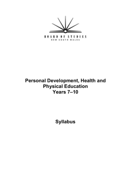 year 9 pdhpe half yearly notes Year 11: pdhpe half yearly australian preliminary hsc syllabus study play meanings of health: interactions between health dimensions what are.