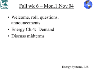 Fall wk 6 – Mon.1.Nov.04 • Welcome, roll, questions, announcements