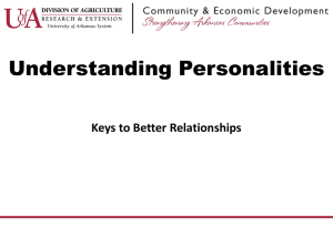 Understanding Personalities Keys to Better Relationships