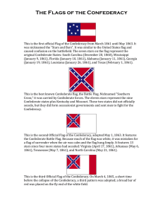 The Flags of the Confederacy