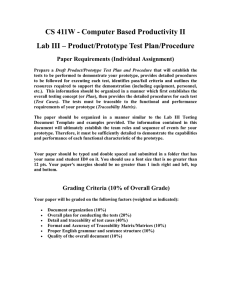 CS 411W - Computer Based Productivity II Paper Requirements (Individual Assignment)