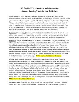 2000 ap english literature essay