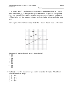 geometry cp 6 7 dilations worksheet name state whether a. Black Bedroom Furniture Sets. Home Design Ideas