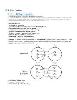 F.IF.1: Define Functions