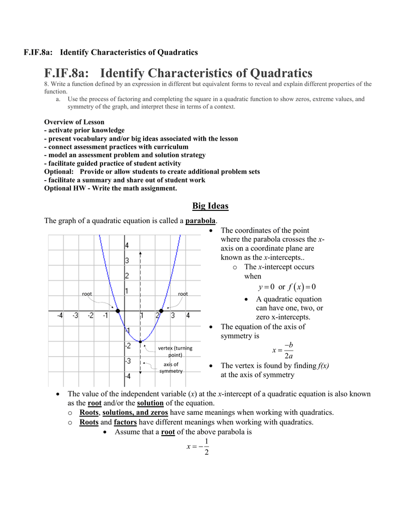 moreover solving quadratics worksheet math – dumao club as well Quadratic Functions   Liry Video  pany furthermore Math 20 1 Chapter 3 Quadratic Functions   ppt download in addition Characteristics of Quadratic Functions by Cara Stull   TpT besides Quadratic Functions furthermore  moreover  furthermore Graphing quadratics review  article    Khan Academy besides Characteristics Of Quadratic Functions Worksheet Understanding the moreover  furthermore Characteristics Of Quadratic Functions Teaching Resources   Teachers together with  likewise Worksheet Practice PACKET besides F IF 8a  Identify Characteristics of Quadratics together with Quadratic Functions. on characteristics of quadratic functions worksheet