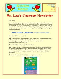 S R  Ms. Luna's Classroom Newsletter