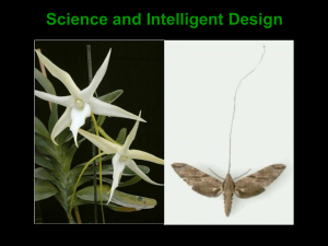 Science and Intelligent Design