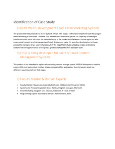 Identification of Case Study