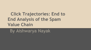 Click Trajectories: End to End Analysis of the Spam Value Chain