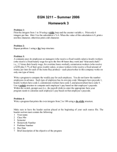 – Summer 2006 EGN 3211 Homework 3