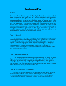 Development Plan  Abstract