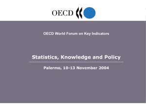Statistics, Knowledge and Policy