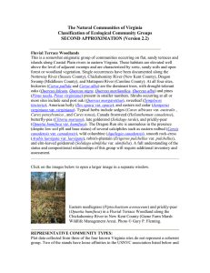The Natural Communities of Virginia Classification of Ecological Community Groups