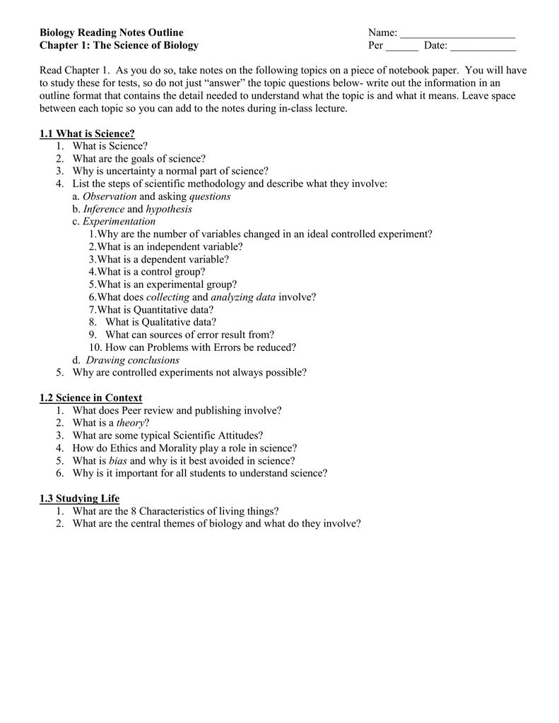 outline method of note taking pdf