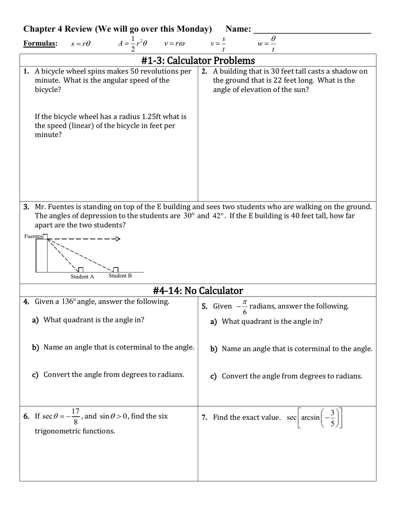 1-3: Calculator Problems 