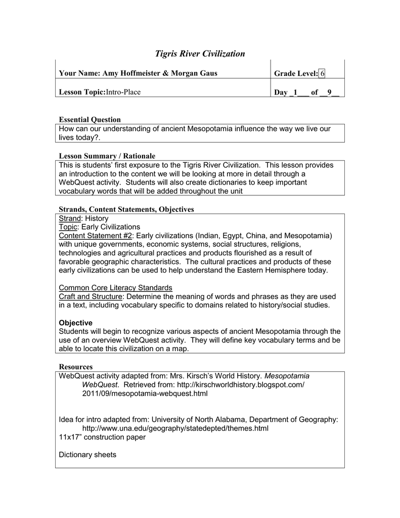 worksheet Mesopotamia Worksheets 017825267 1 682ca862d20b30adeb20c82500d3e53b png