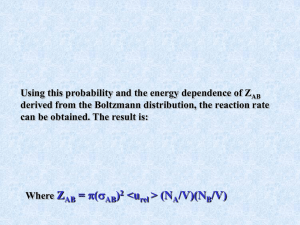Using this probability and the energy dependence of Z