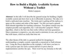 How to Build a Highly Available System Without a Toolkit
