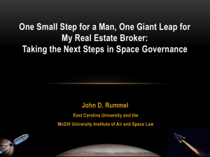 One Small Step for a Man, One Giant Leap for