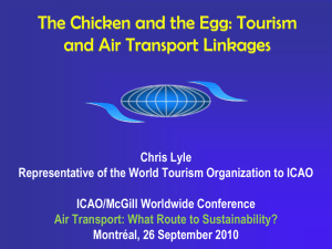 The Chicken and the Egg: Tourism and Air Transport Linkages