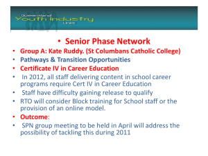 Senior Phase Network