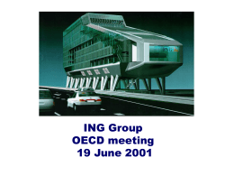 ING Group OECD meeting 19 June 2001
