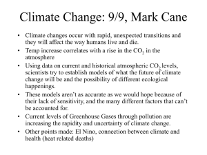Climate Change: 9/9, Mark Cane