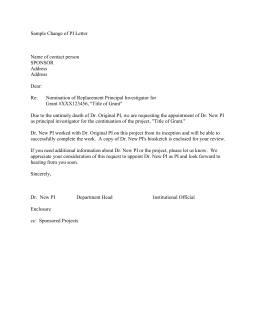 R01 grant cover letter example