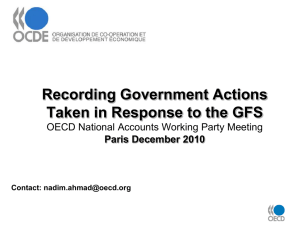 Recording Government Actions Taken in Response to the GFS Paris December 2010