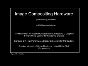 Image Compositing Hardware