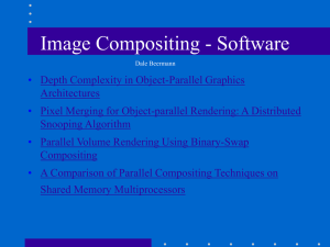 Image Compositing - Software