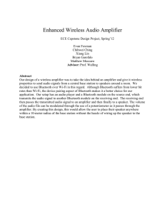 Enhanced Wireless Audio Amplifier