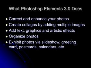 What Photoshop Elements 3.0 Does
