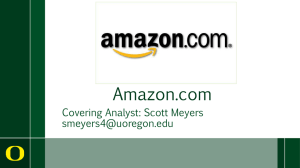 Amazon.com Covering Analyst: Scott Meyers