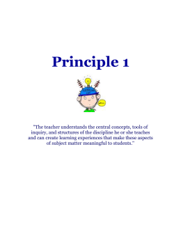 intasc principles ©taylor & francis 2016 intasc model standards for beginning teacher licensing, assessment, and development developed by the council of chief state school officers, the intasc (interstate new.