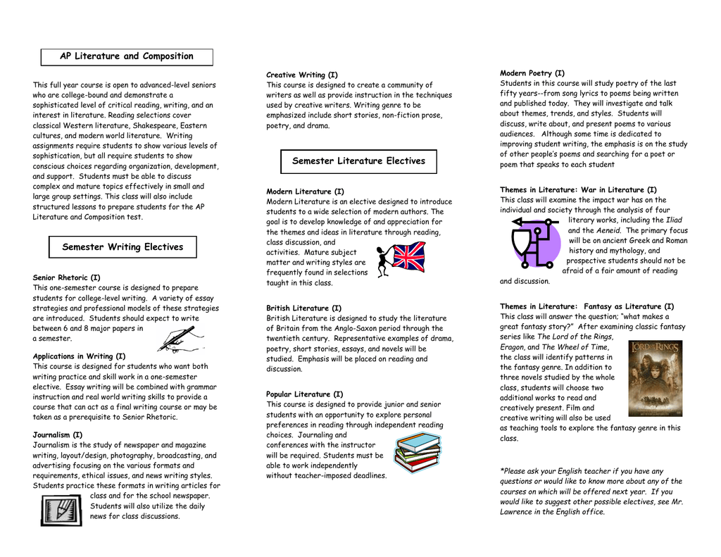 a school magazine composition