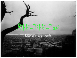 Rikki-Tikki-Tavi Literary Elements