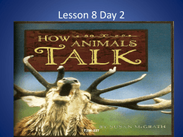 Lesson 8 Day 2 T226-227