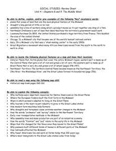 SOCIAL STUDIES –Review Sheet