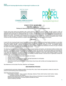 EXECUTIVE SUMMARY PROPEL Initiative