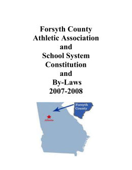 Forsyth County Athletic Association and